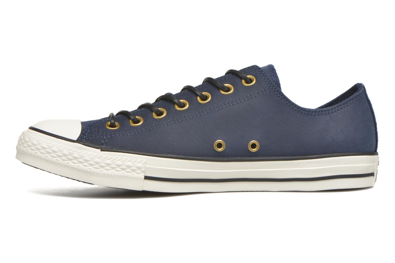 Sneaker Converse Ctas Ox Lthr M blau ansicht von vorne