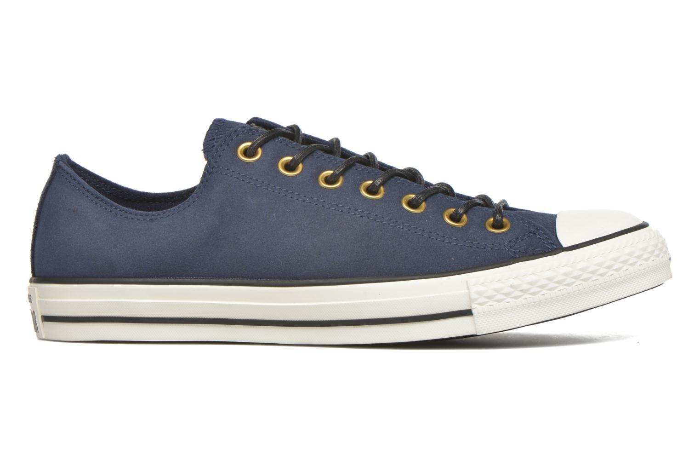 Sneaker Converse Ctas Ox Lthr M blau ansicht von hinten
