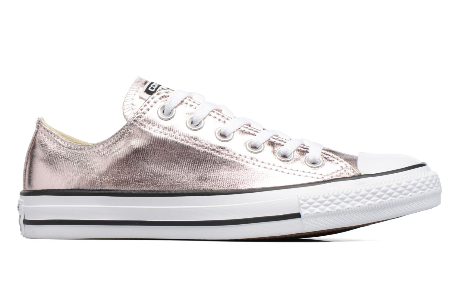 Trainers Converse Chuck Taylor All Star Ox Metallics W Bronze and Gold back view