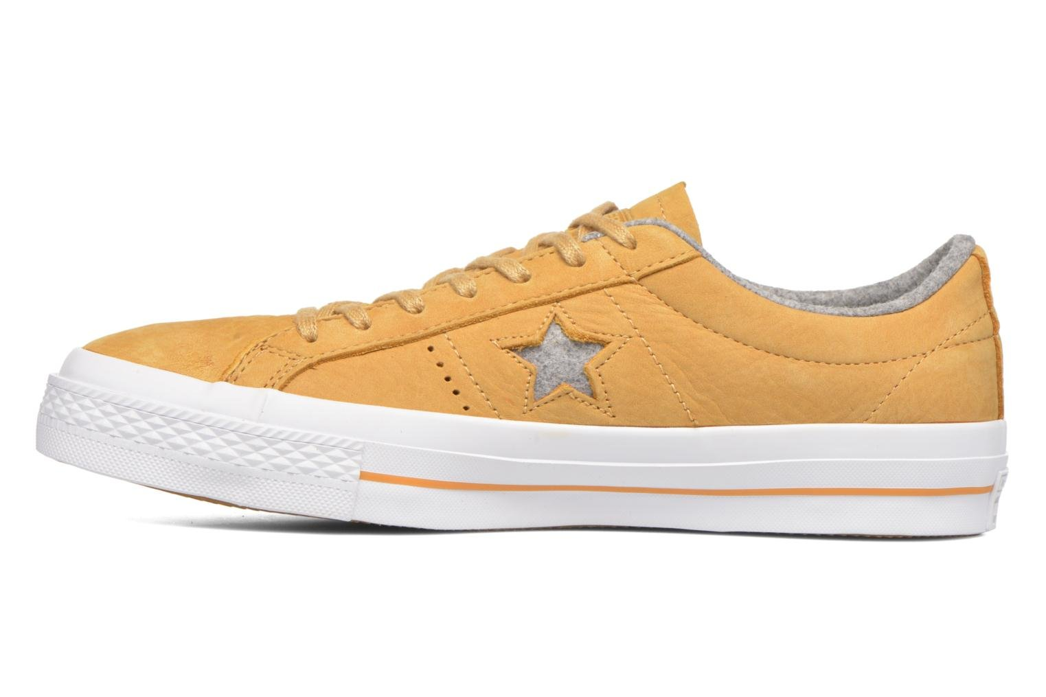Trainers Converse One Star Nubuck Ox M Yellow front view