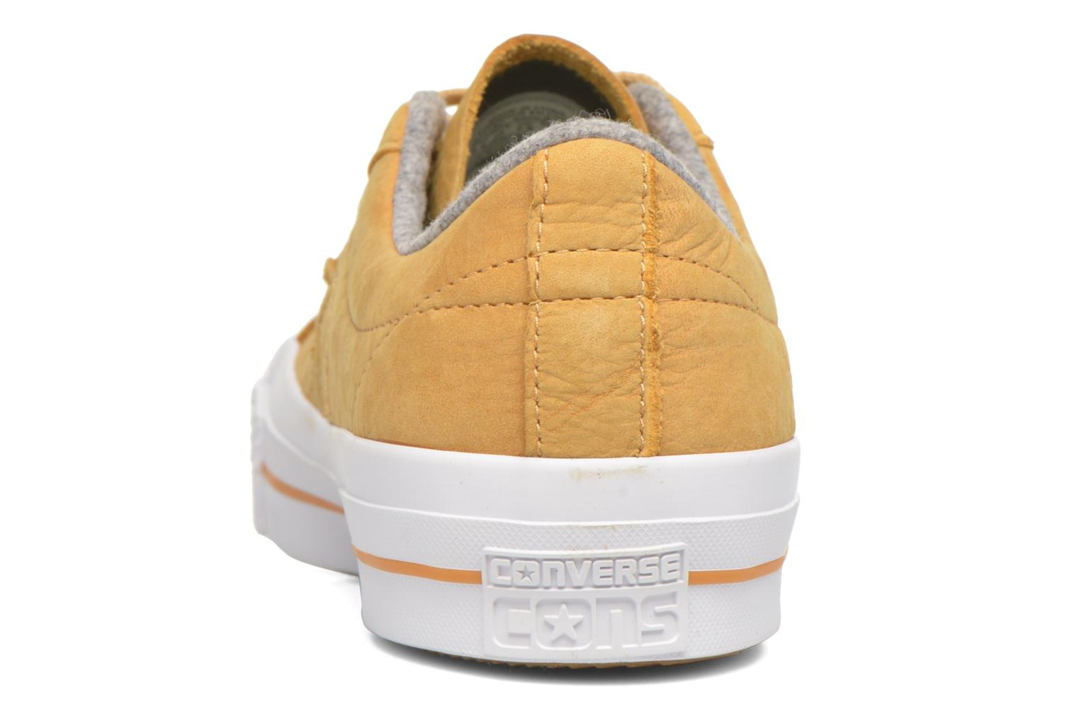 Trainers Converse One Star Nubuck Ox M Yellow view from the right