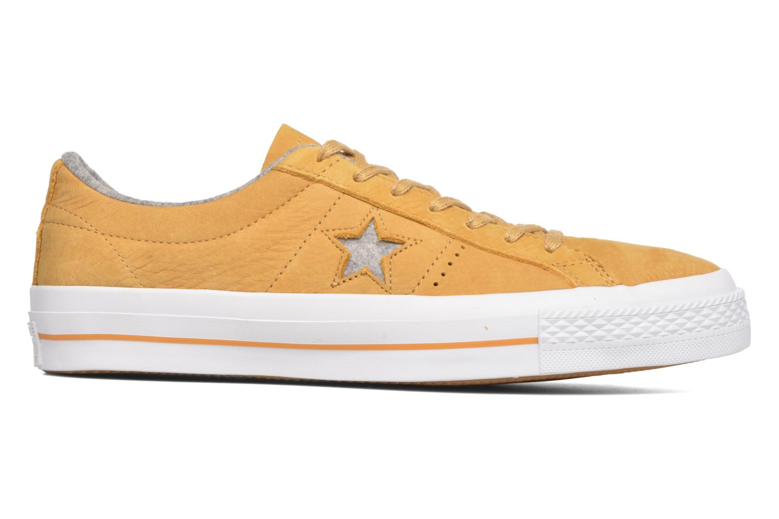 Trainers Converse One Star Nubuck Ox M Yellow back view