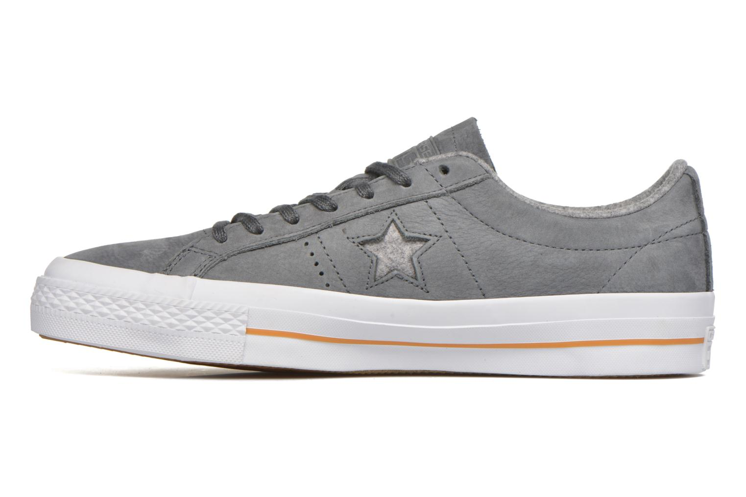 Trainers Converse One Star Nubuck Ox M Grey front view