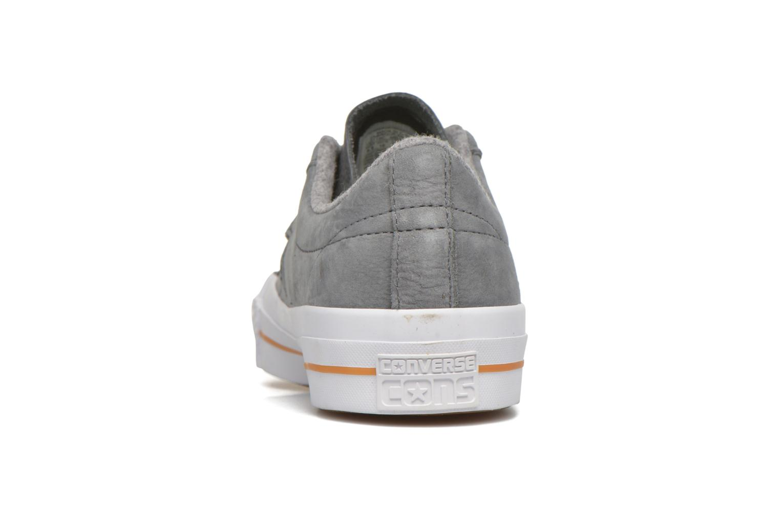 Trainers Converse One Star Nubuck Ox M Grey view from the right