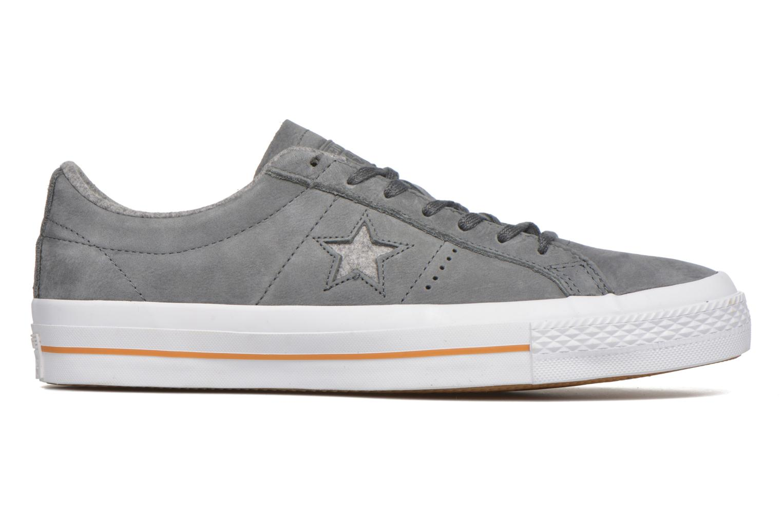 Trainers Converse One Star Nubuck Ox M Grey back view