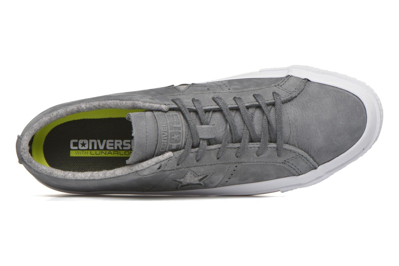 Sneaker Converse One Star Nubuck Ox M grau ansicht von links
