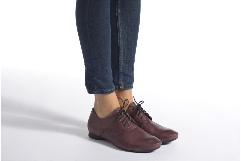 Chaussures à lacets Think! Guad 87290 Bordeaux vue bas / vue portée sac