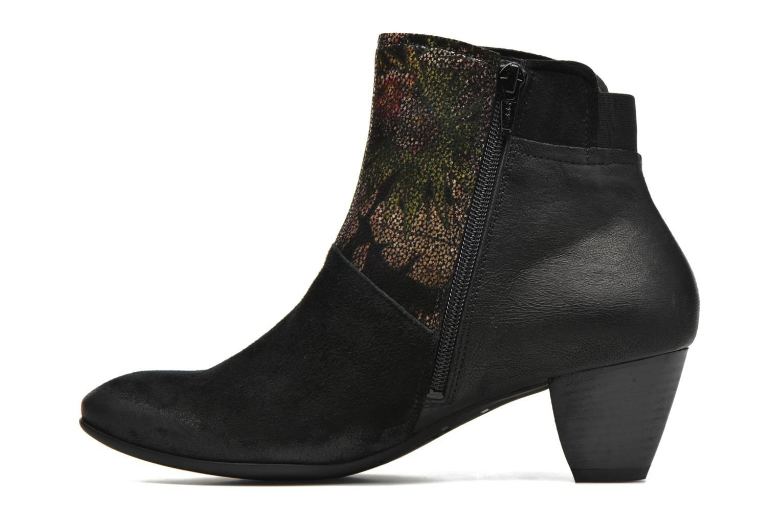 Bottines et boots Think! Fania 87211 Noir vue face