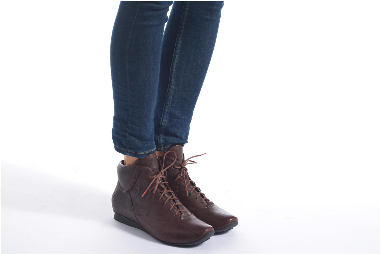 Bottines et boots Think! Chili 87108 Marron vue bas / vue portée sac