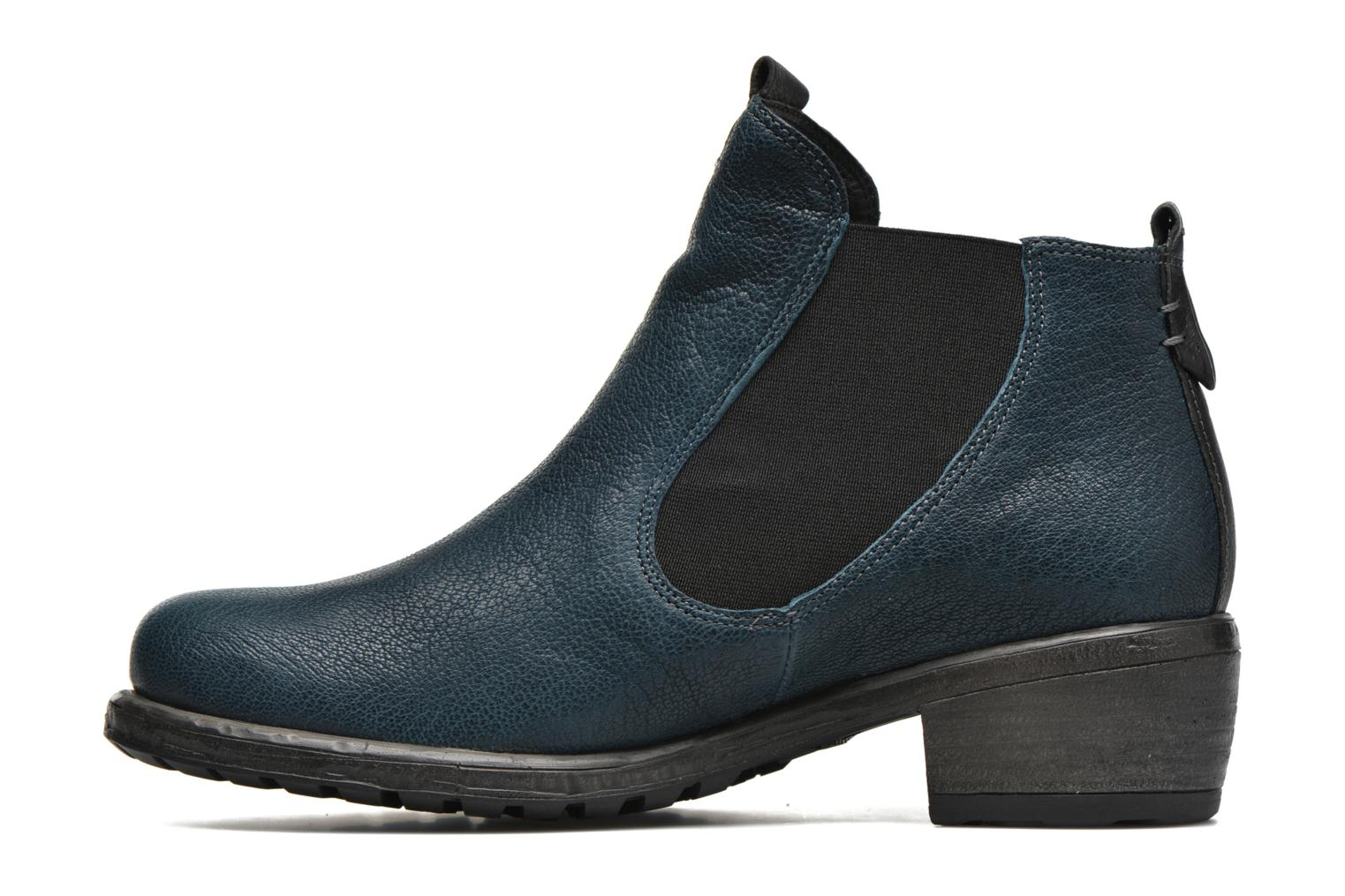Bottines et boots Think! Liab 87184 Bleu vue face