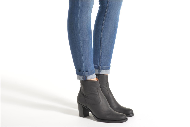 Bottines et boots Free Lance Legend 7 Zip Boot Gris vue bas / vue portée sac