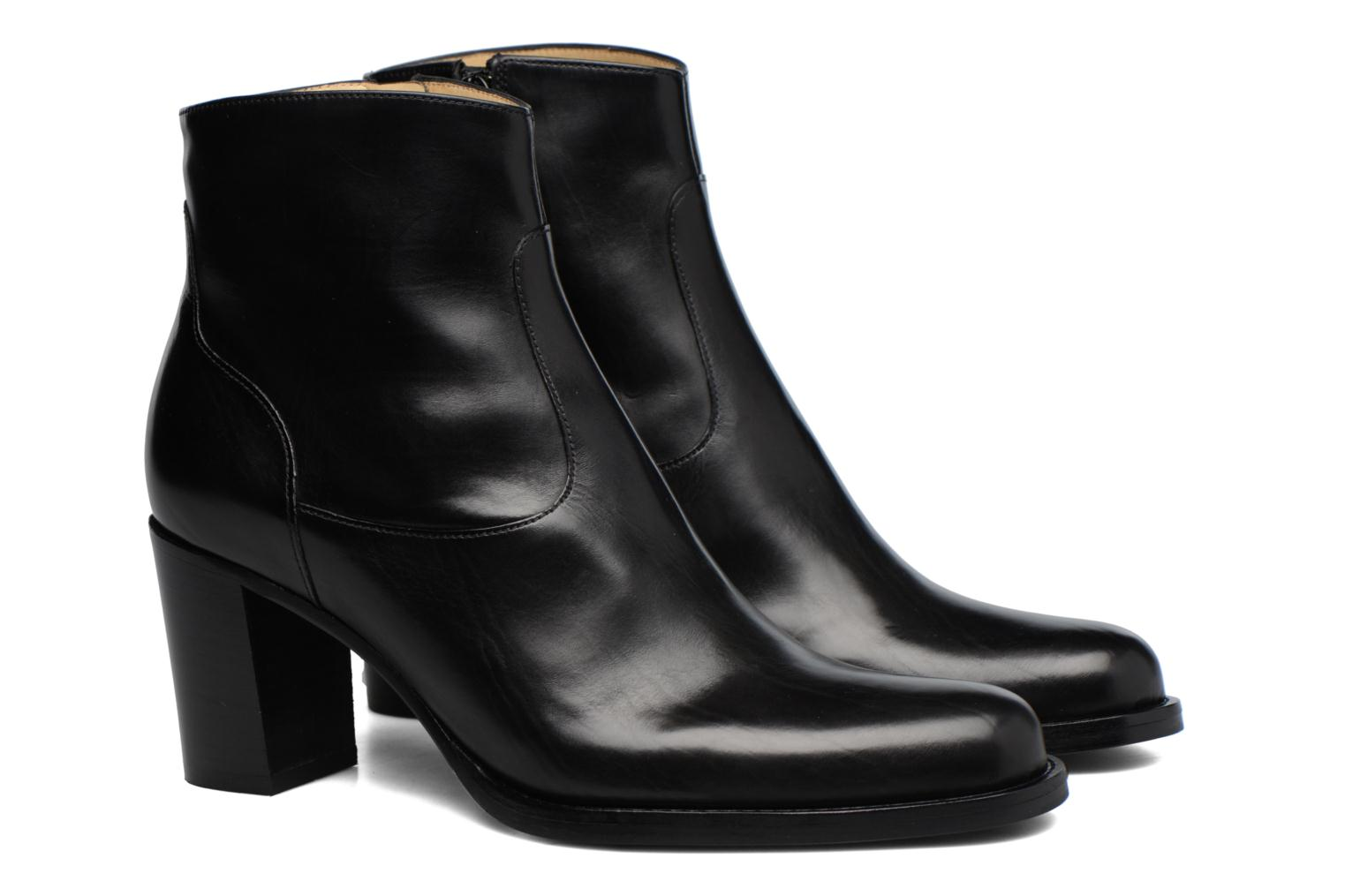 Ankle boots Free Lance Legend 7 Zip Boot Black 3/4 view