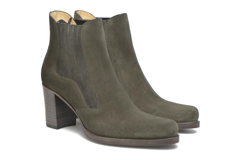 Stiefeletten & Boots Free Lance Paddy 7 boot elast grau 3 von 4 ansichten