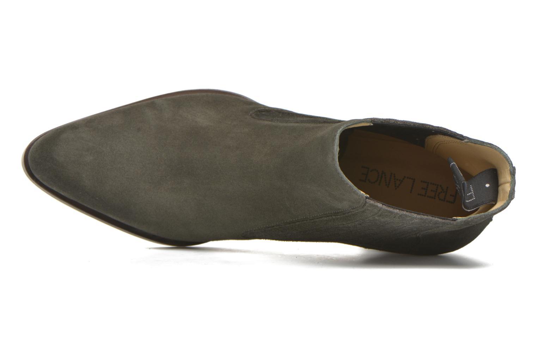 Stiefeletten & Boots Free Lance Paddy 7 boot elast grau ansicht von links