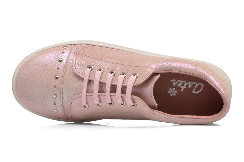 Sneaker Aster Roxana rosa ansicht von links