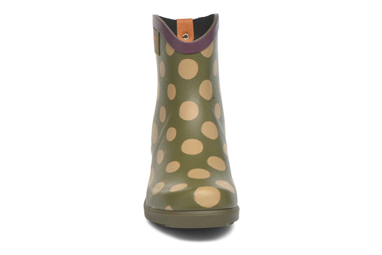 Bottines et boots Aigle Miss Juliette Bottillon BS Vert vue portées chaussures