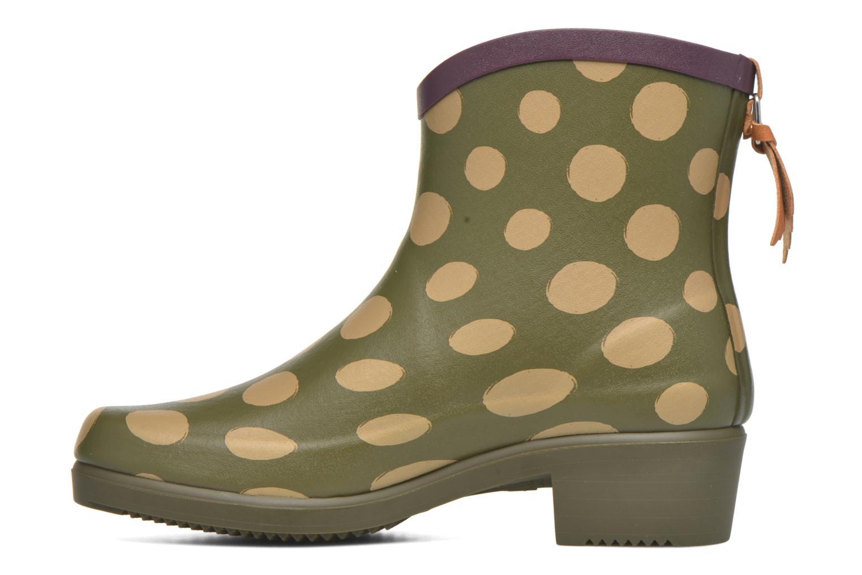 Bottines et boots Aigle Miss Juliette Bottillon BS Vert vue face