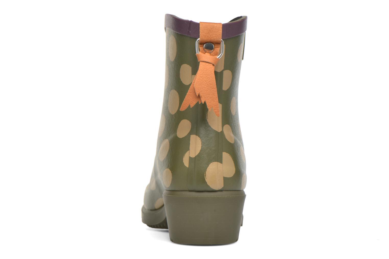 Bottines et boots Aigle Miss Juliette Bottillon BS Vert vue droite