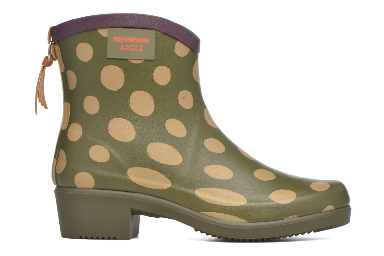 Bottines et boots Aigle Miss Juliette Bottillon BS Vert vue derrière