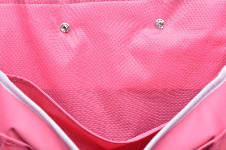 School bags Disney Cartable 38cm Trolley Reine des neiges - Pink back view