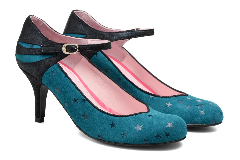Zapatos de tacón Annabel Winship Stone Azul vista 3/4