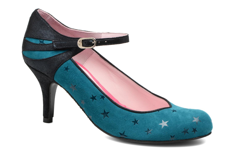 Escarpins Annabel Winship Stone Bleu vue détail/paire