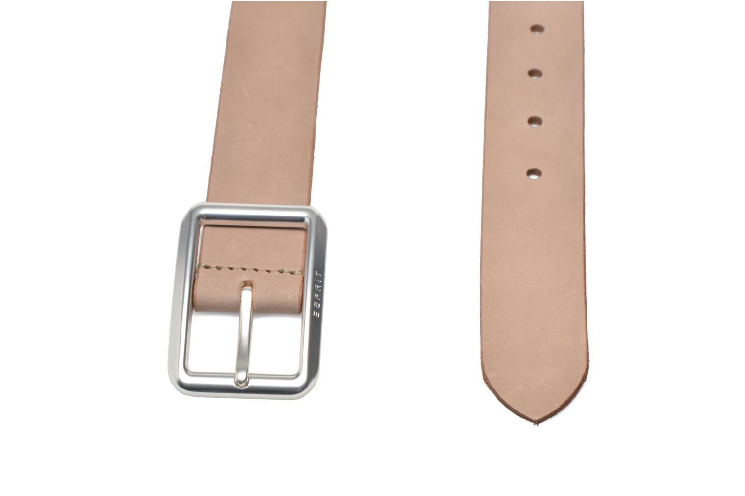 Cinturones Esprit Color basic Belt Beige vista del modelo