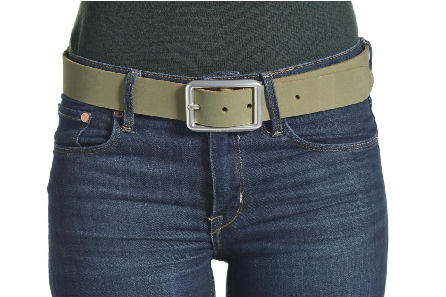 Cinturones Esprit Color basic Belt Beige vista de arriba