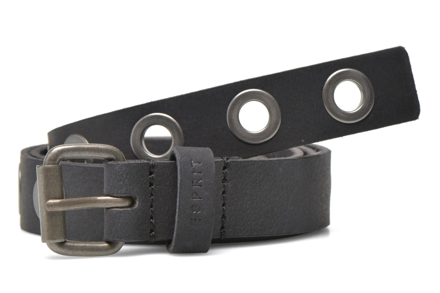 Belts Esprit Eyelet Belt Black detailed view/ Pair view