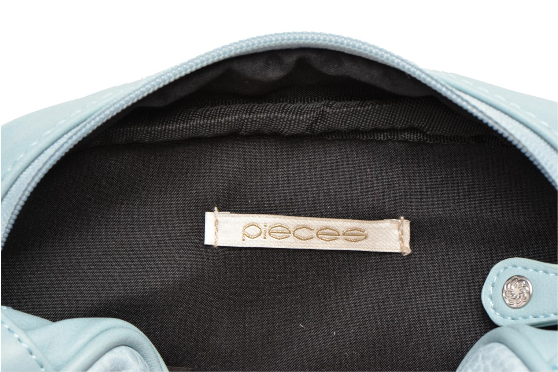 Sacs pochettes Pieces Tanya Cross Bleu vue derrière