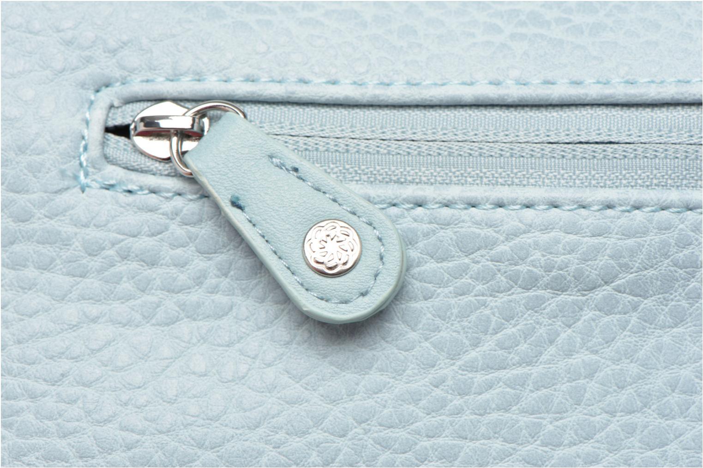 Sacs pochettes Pieces Tanya Cross Bleu vue gauche
