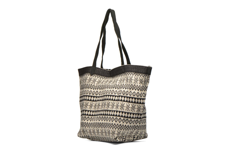 Borse Esprit Flavia Shopper Cabas textile Nero modello indossato