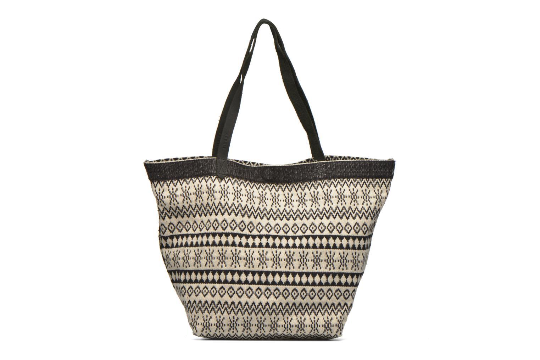 Handtaschen Esprit Flavia Shopper Cabas textile schwarz ansicht von vorne