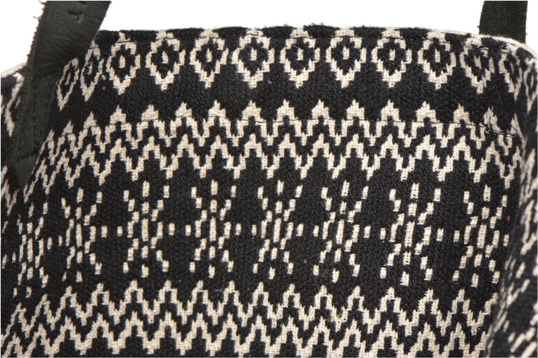 Handtaschen Esprit Flavia Shopper Cabas textile schwarz ansicht von hinten