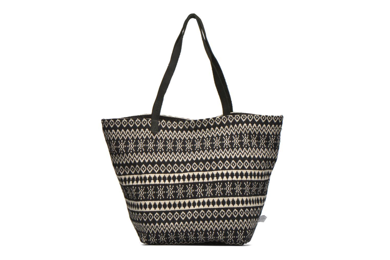 Handtaschen Esprit Flavia Shopper Cabas textile schwarz ansicht von links