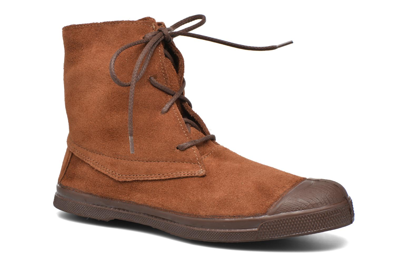 Baskets Bensimon Boots Dakota Marron vue détail/paire