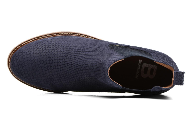 Botines  Bensimon Boots semelle crepe Azul vista lateral izquierda