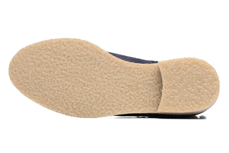 Botines  Bensimon Boots semelle crepe Azul vista de arriba