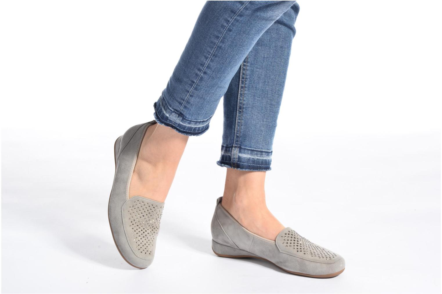 Loafers Hassia Petra 1744 Grey view from underneath / model view
