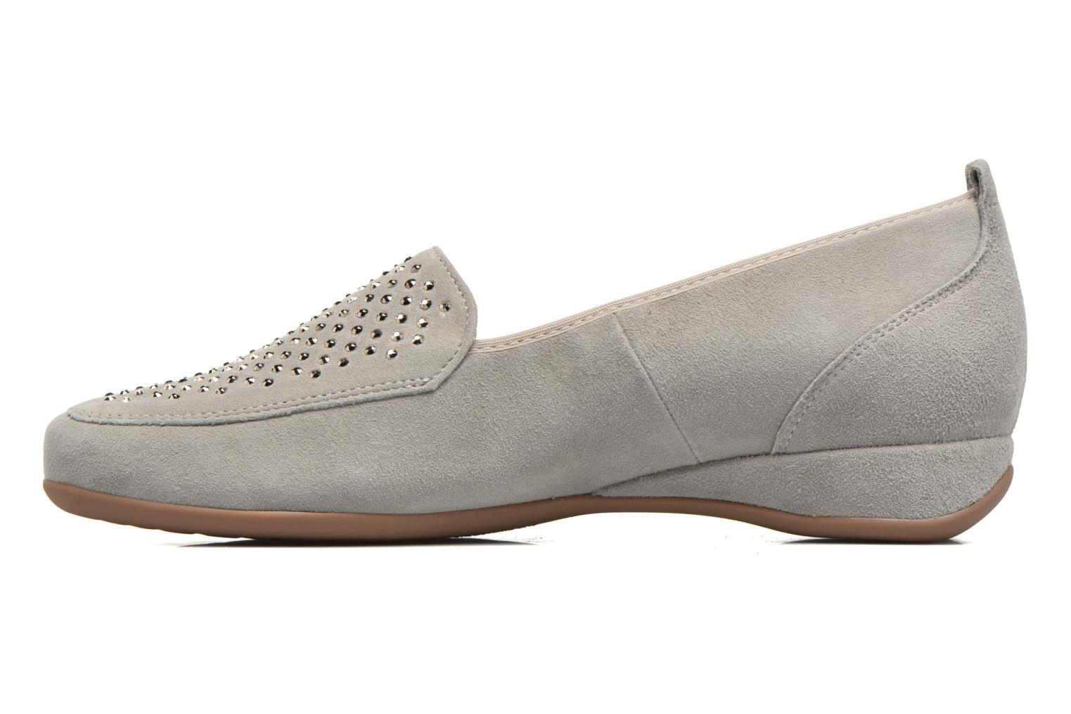 Loafers Hassia Petra 1744 Grey front view