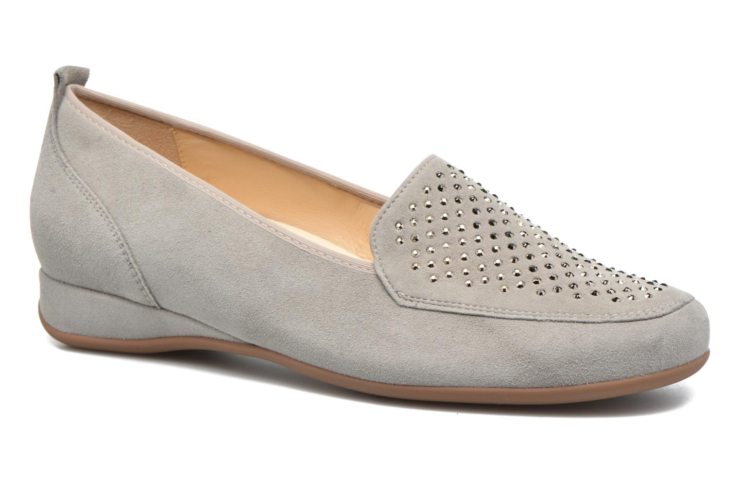 Loafers Hassia Petra 1744 Grey detailed view/ Pair view