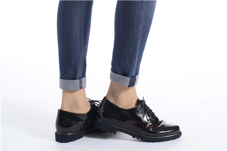 Chaussures à lacets Hassia Asti 1154 Bleu vue bas / vue portée sac