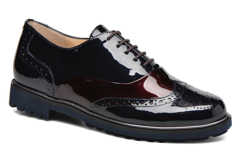 Chaussures à lacets Hassia Asti 1154 Bleu vue détail/paire