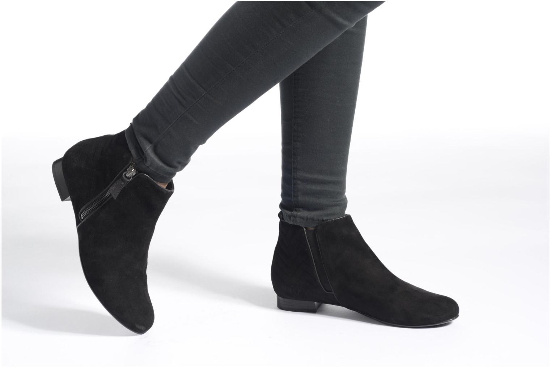 Bottines et boots Hassia Fermo 1082 Noir vue bas / vue portée sac