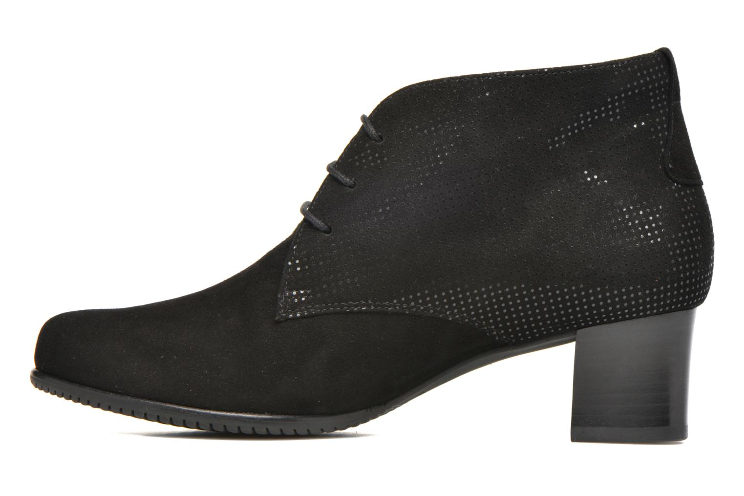 Bottines et boots Hassia Paris 4875 Noir vue face