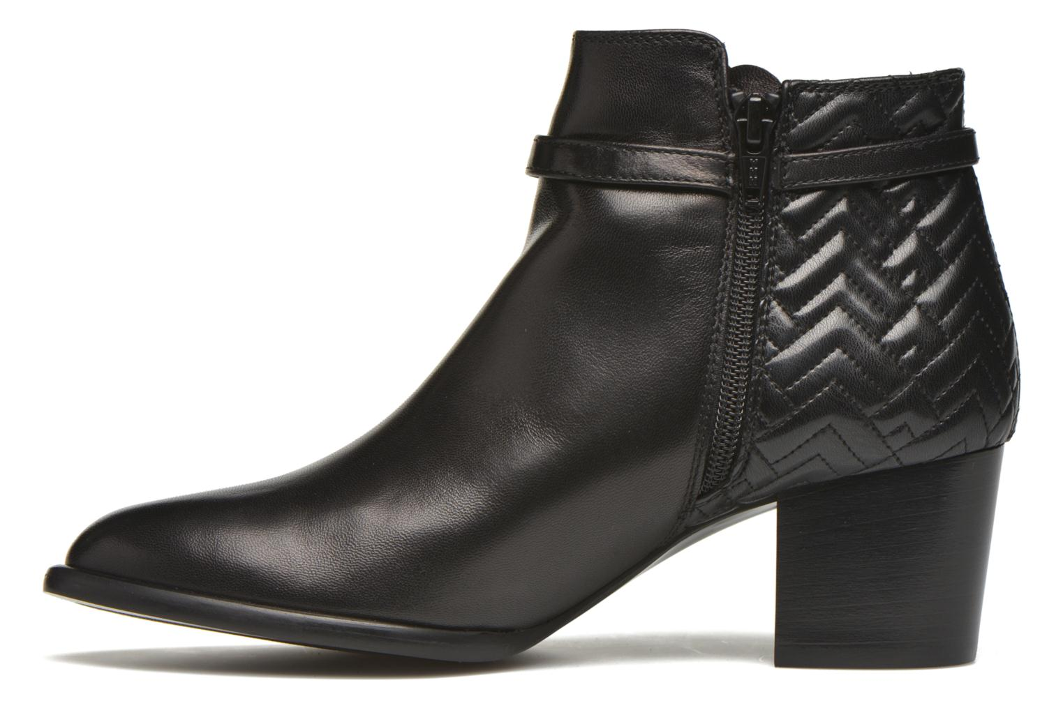 Ankle boots Heyraud Dipa Black front view