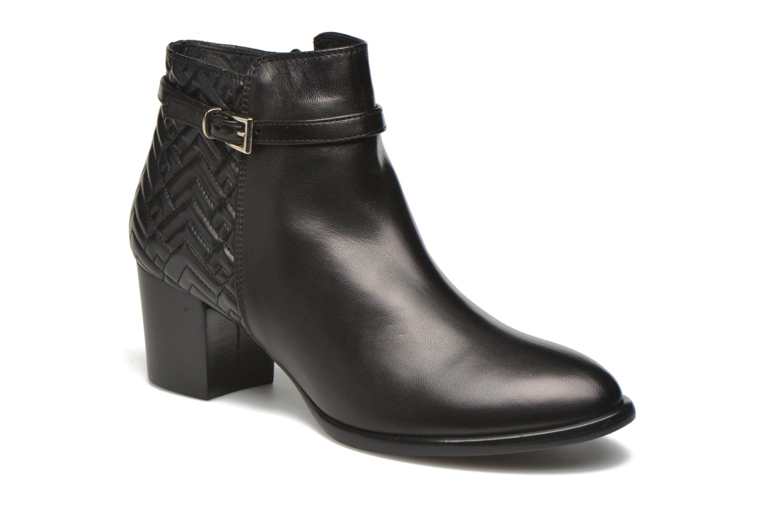 Ankle boots Heyraud Dipa Black detailed view/ Pair view