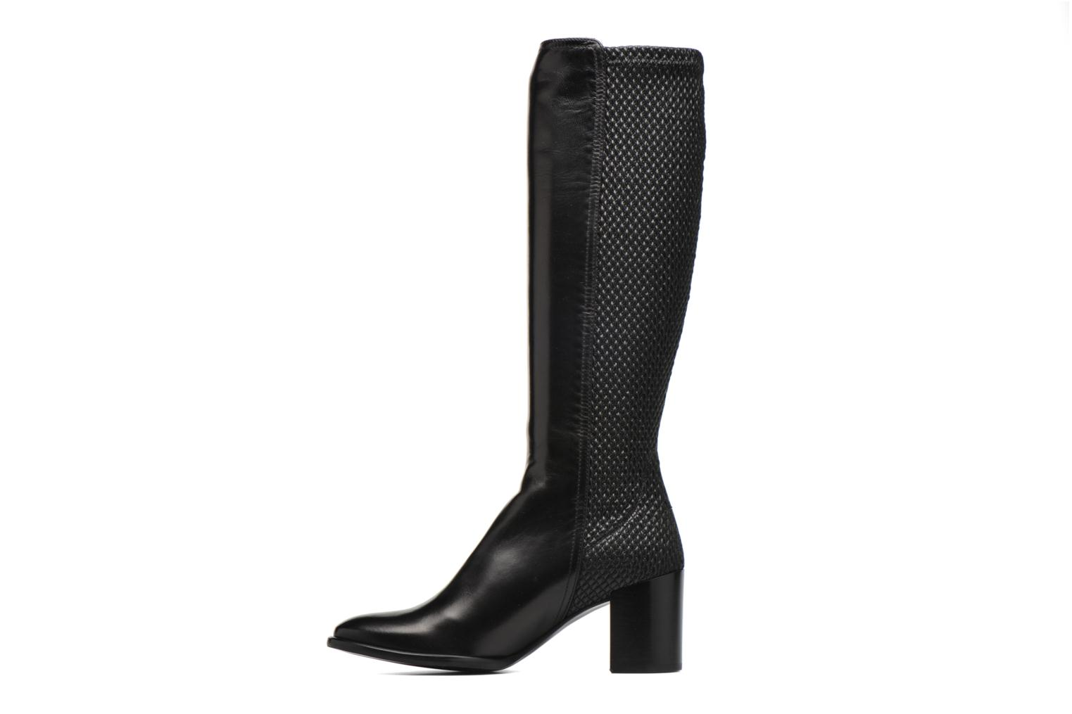 Boots & wellies Heyraud Fazia Black front view