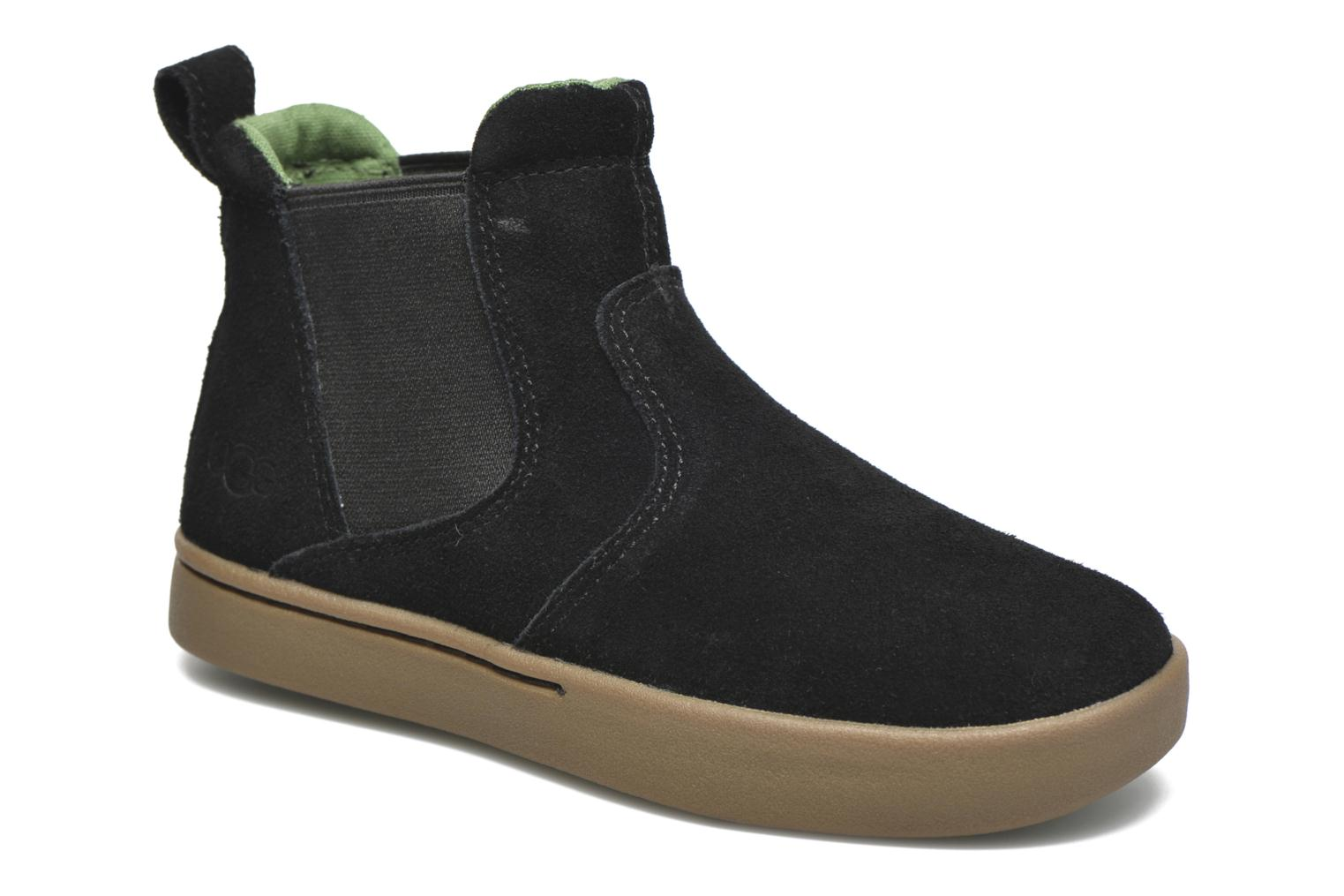 Ankle boots UGG Hamden Black detailed view/ Pair view