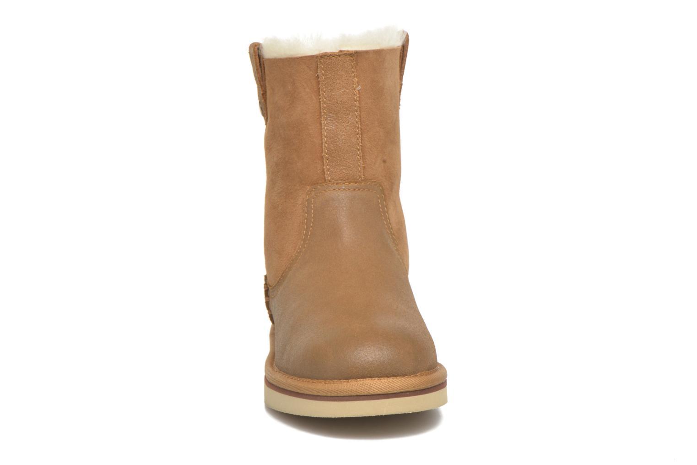 Bottes UGG Haydee Beige vue portées chaussures